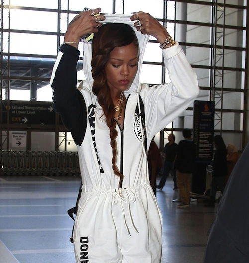 Rihanna DKNY Jumpsuit 6