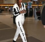 Rihanna DKNY Jumpsuit 8