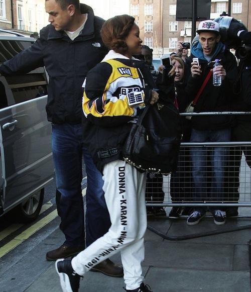 Rihanna DKNY Jumpsuit london