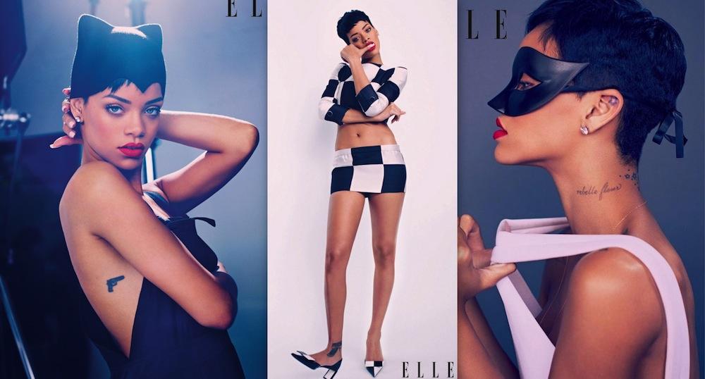 Rihanna Elle Mag photos