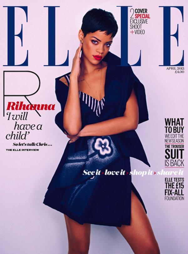 Rihanna Elle UK 2013
