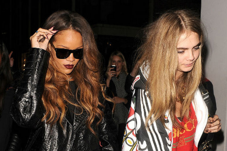 Rihanna and Cara pic