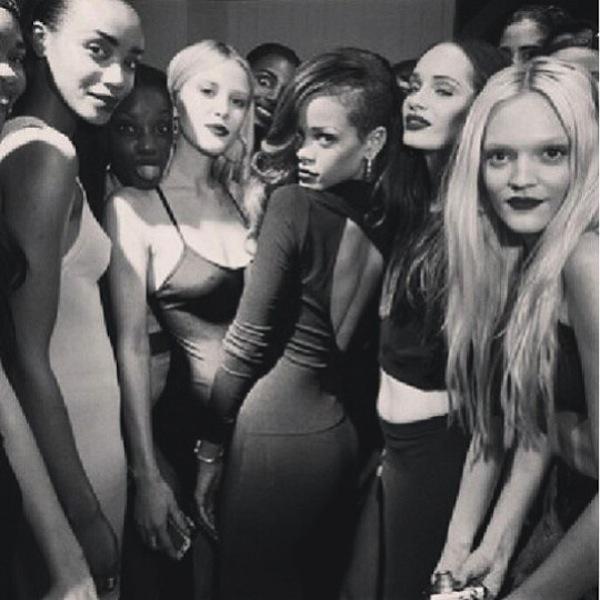 Rihanna fashion collection launch 5