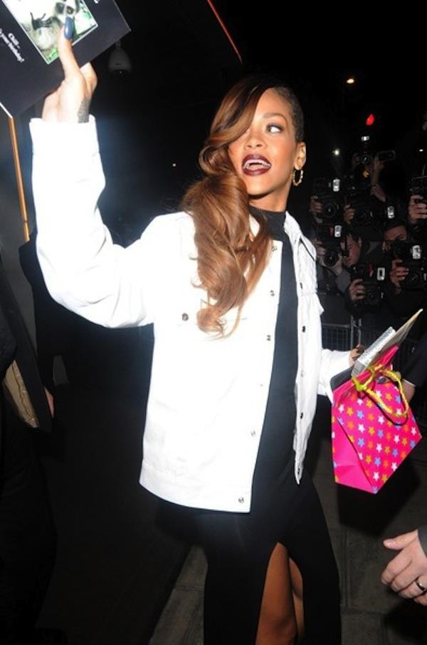 Rihanna fashion collection launch 6