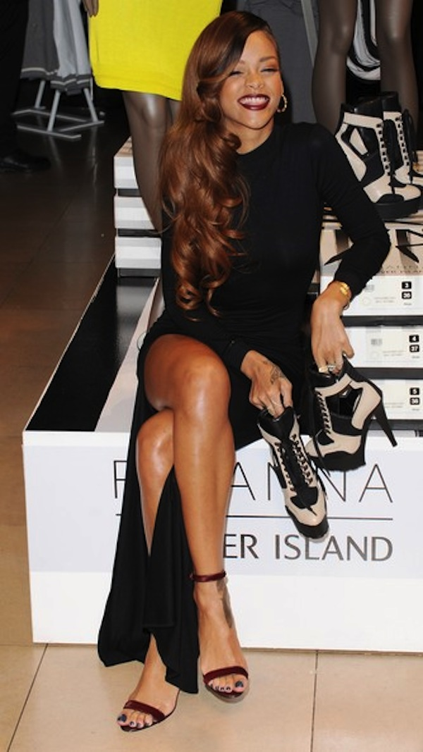 Rihanna fashion collection launch 8