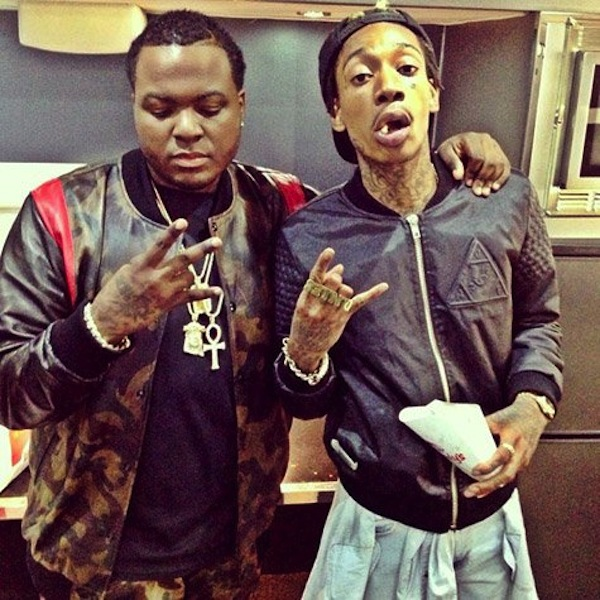 Sean Kingston and Wiz Khalifa