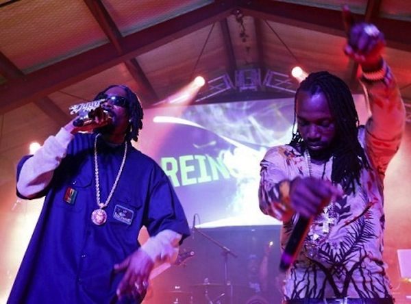 Snoop Lion and Mavado sxsw