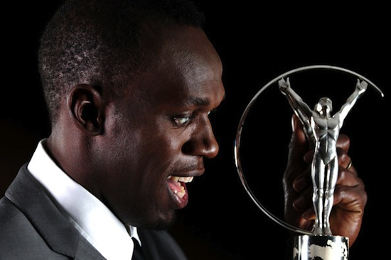 Usain Bolt Laureus award 11