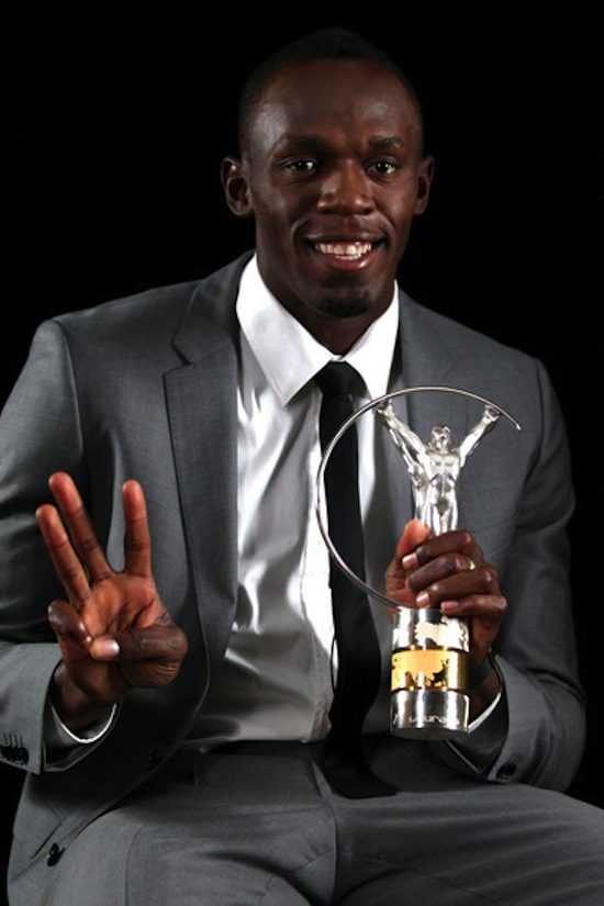 Usain Bolt Laureus award 4