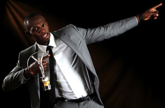 Usain Bolt Laureus award 5