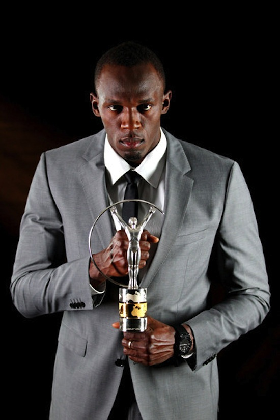 Usain Bolt Laureus award 8