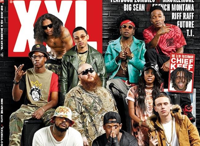 XXL Mag freshman 2013 cover