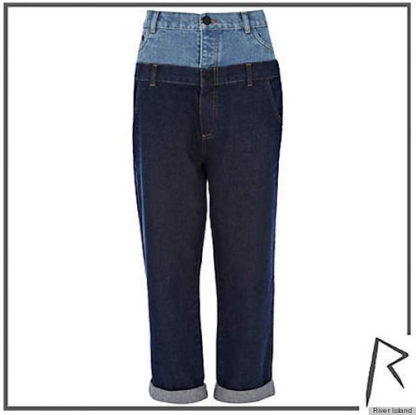 rihanna river island jeans collection