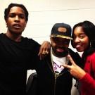 ASAP Rocky and Jermaine Dupri