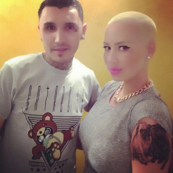 Amber Rose tattoo artist