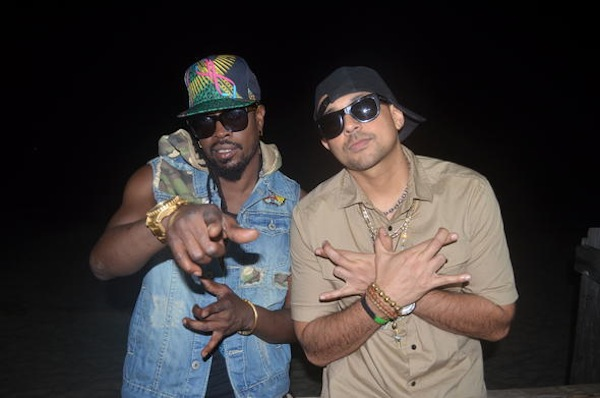 Beenie Man and Sean Paul
