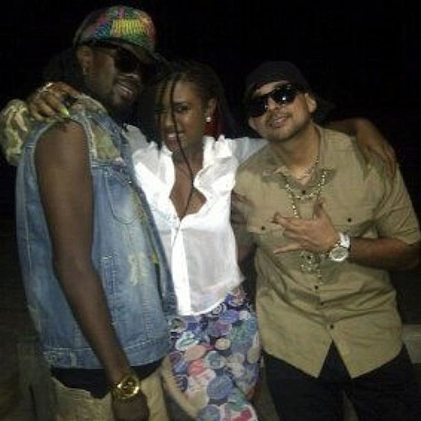 Beenie and Sean Paul video shoot