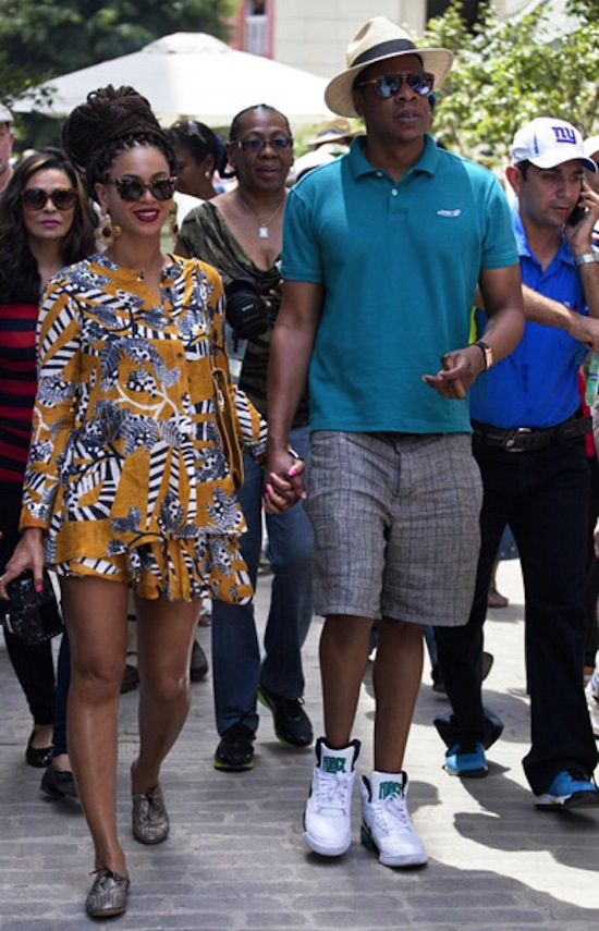 Beyonce and Jay-Z cuba