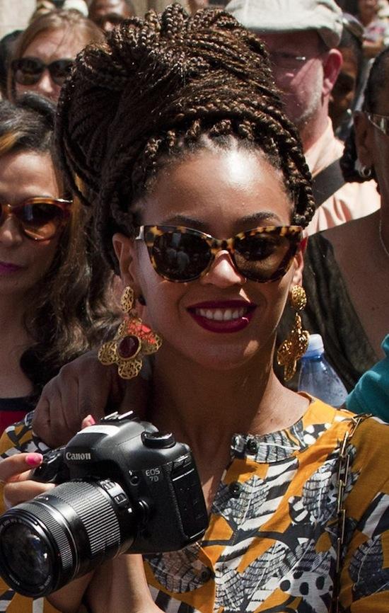 Beyonce in Cuba 2013