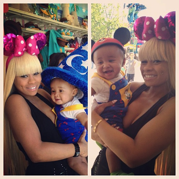 Blac Chyna and King Cairo