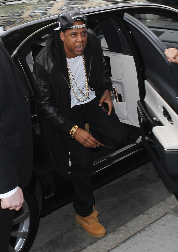 Jay-Z maybach nyc
