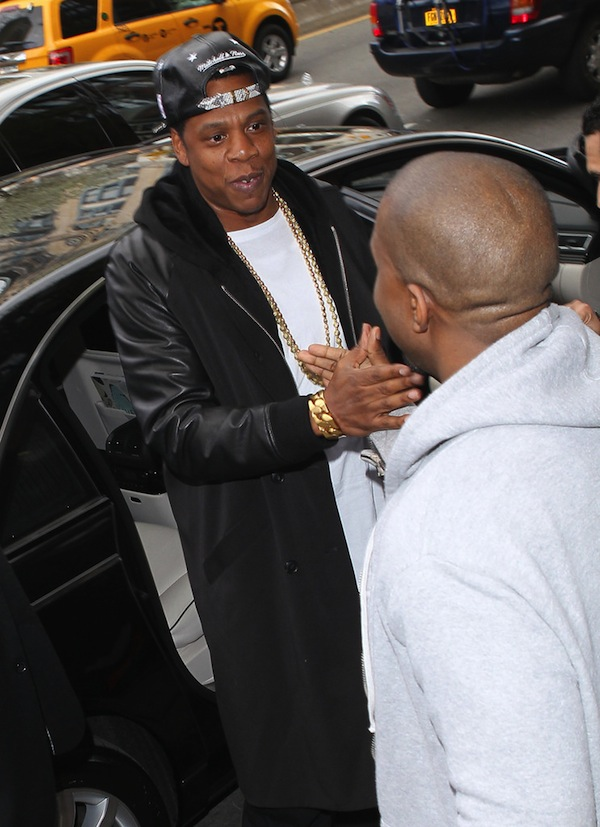 Jayz j and kanye west pic