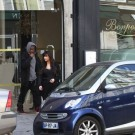 Kim Kardashian and Kanye West paris 2