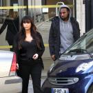 Kim Kardashian and Kanye West paris 3