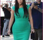 Pregnant Kim Kardashian Visits Her Doctor