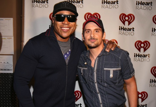 LL Cool J and Brad Paisly photo