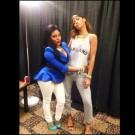 Lil Kim and Rihanna