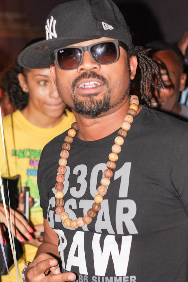 Machel Montano at Bolt Tracks and Records