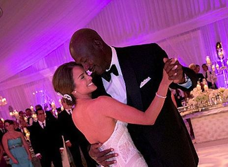 Michael Jordan Yvette Prieto wedding pic