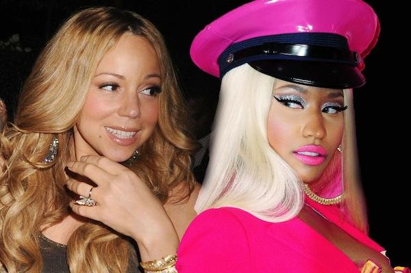 Nicki Minaj and Mariah Carey pic