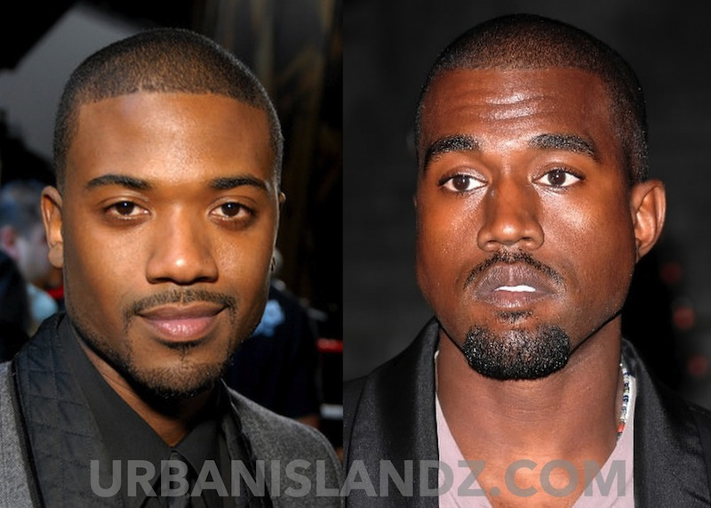 Ray J and Kanye West photo