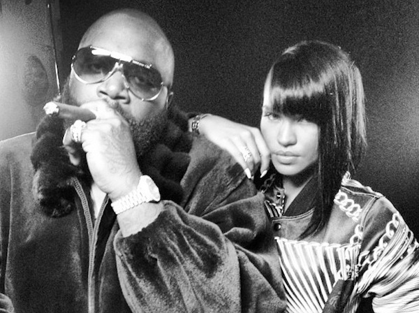 Rick Ross and Cassie