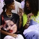 Rihanna Heats NBA Game