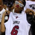 Rihanna James Jersey NBA