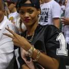 Rihanna Miami Heats Game