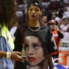 Rihanna Miami Heats Game 2013