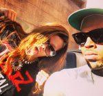 Rihanna and Chris Brown 042013