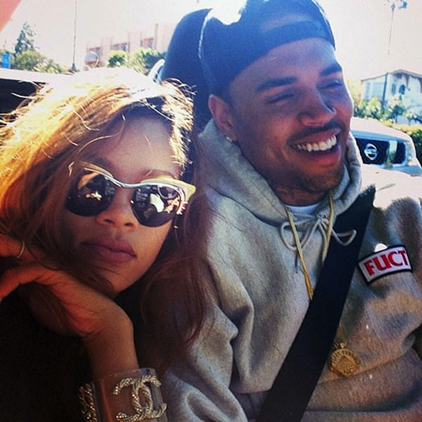 Rihanna and Chris Brown together 2013