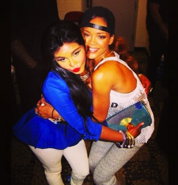 Rihanna and Lil kim