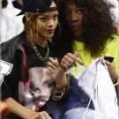 Rihanna and Melissa Forde Miami Heats