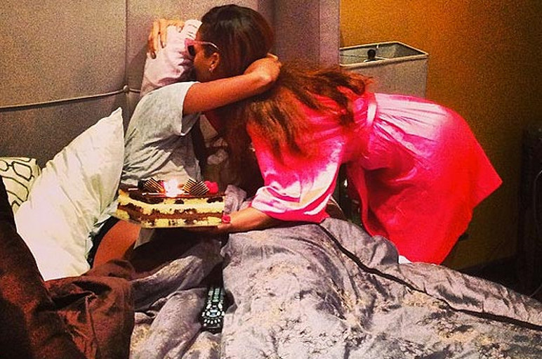 Rihanna and Melissa Forde birthday