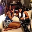 Rihanna and Monyetta