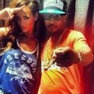 Rihanna and T.I. in Atlanta