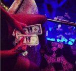 Rihanna at Kod strip club