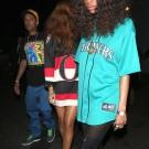 Rihanna go clubbing 09042013 11