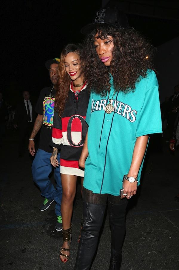 Rihanna go clubbing 09042013 4